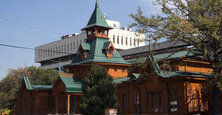 Музей казахских народных музыкальных инструментов в Алматы
