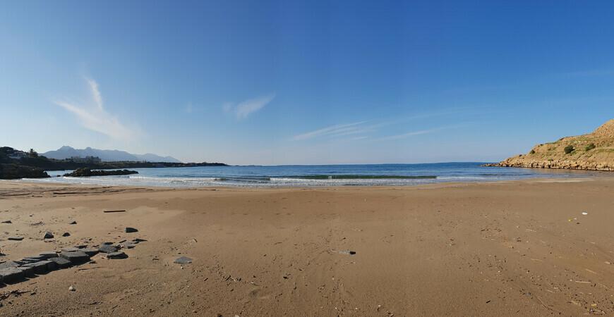 Пляж Диана (Diana Beach) в Кирении, Северный Кипр