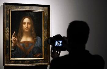 Картина Леонардо да Винчи исчезла из филиала Лувра в Абу-Даби