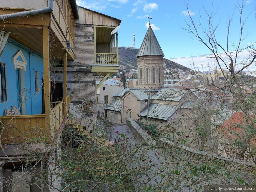 грузия день 2 ой тбилиси районы бетлеми и сололаки отзыв от