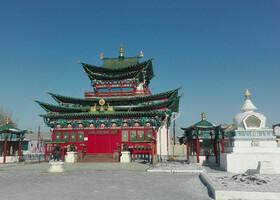 Центр российского буддизма Иволгинский дацан