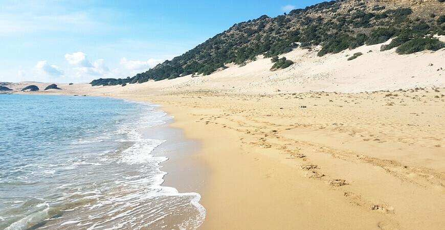 Золотой пляж на Кипре (Золотые пески, Golden Beach)