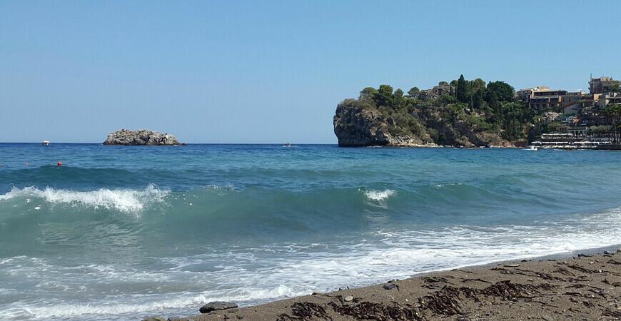 Пляж Спизоне на Сицилии