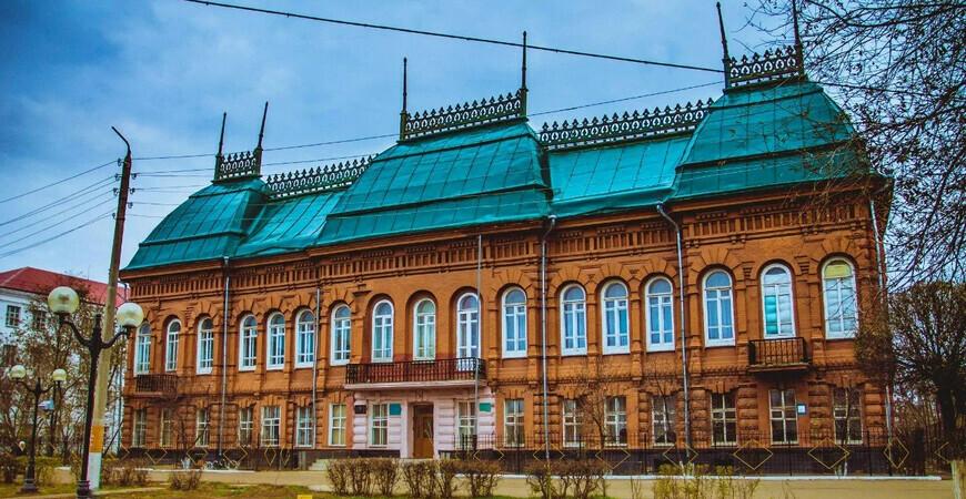 Дом купцов Ванюшиных в Уральске