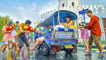 В главном туристическом районе Бангкока отменят Сонгкран из-за коронации монарха