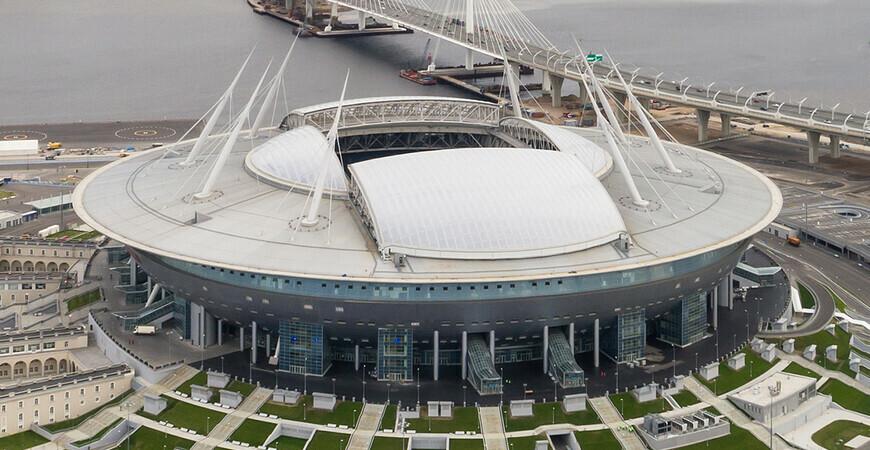 Стадион «Газпром Арена» вСанкт-Петербурге