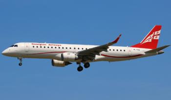 Грузинская авиакомпания начала летать из Тбилиси в Уфу