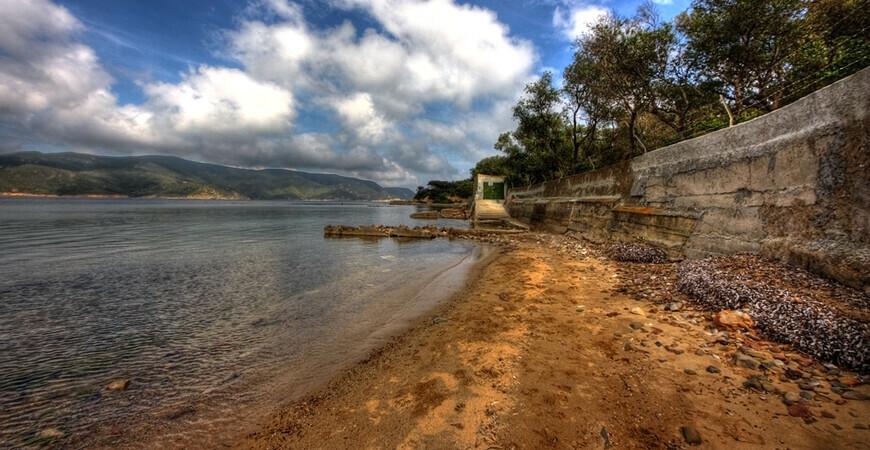 Пляж Галенцана