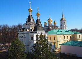Вид кремля с валов