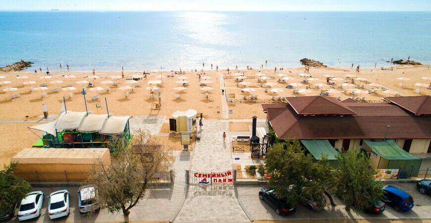 Пляж «Алые Паруса» в Феодосии