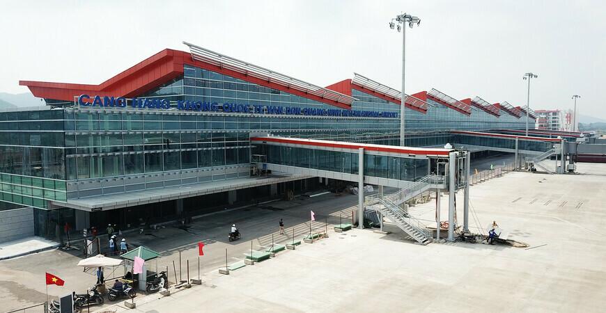 Аэропорт Куангниня «Ван Дон»