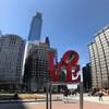 Нью-Йорк - Принстон - Филадельфия, 1-дневная поездка c Ярославом Бондаренко. Филадельфия, площадь со скульптурой