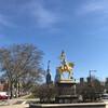 Нью-Йорк - Принстон - Филадельфия, 1-дневная поездка c Ярославом Бондаренко. Скульптура Жанны д'Арк.