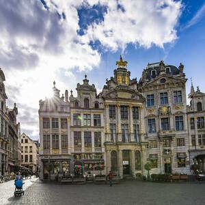 Осенний марафон по западной Европе. Брюссель