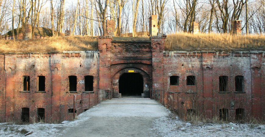 Форт №3 «Король Фридрих I» в Калининграде