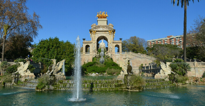 Парк Цитадели (Сьютаделья) в Барселоне