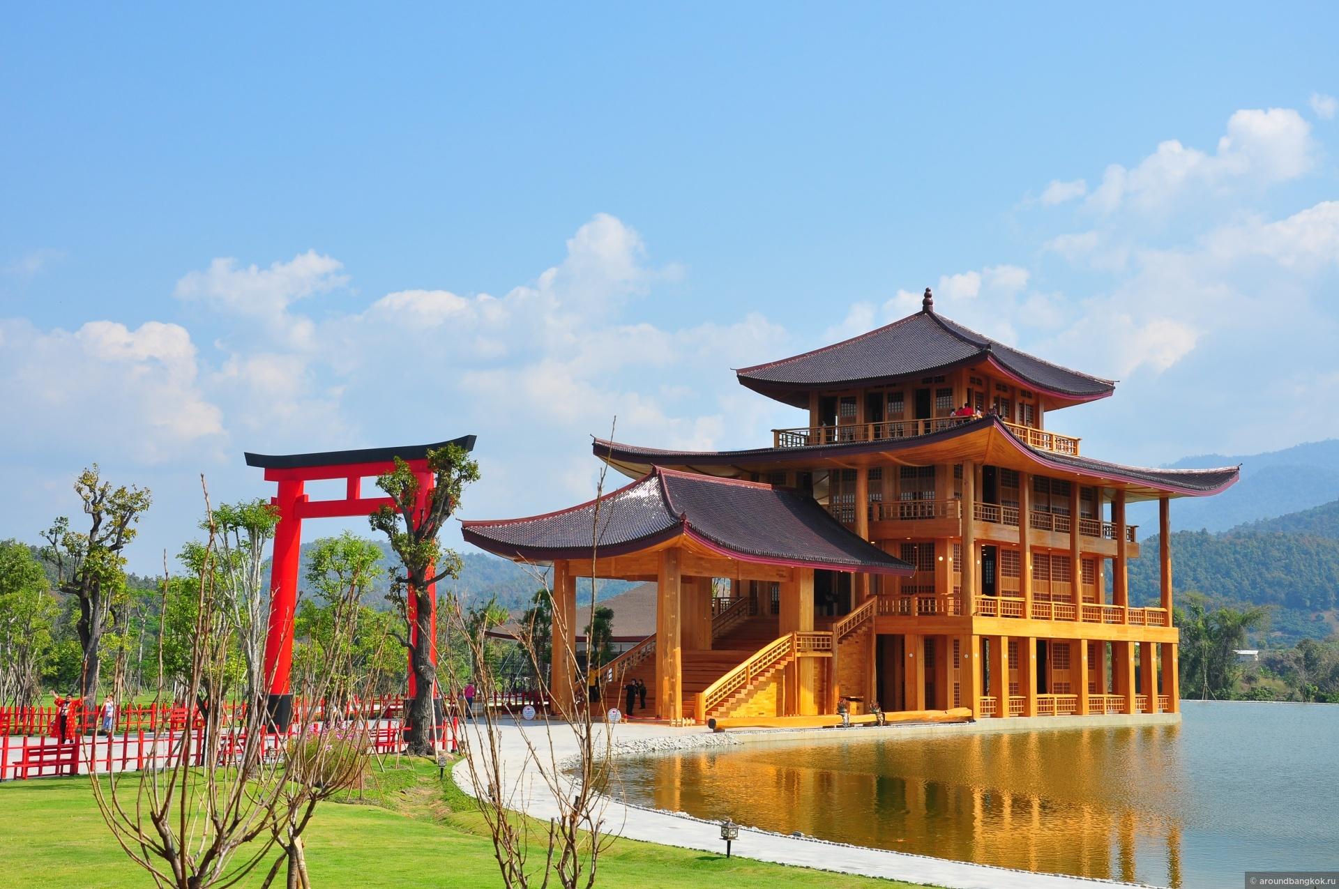 Японский городок на севере Таиланда