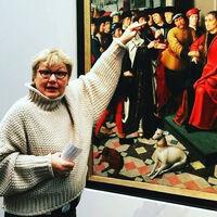 Турист Ирина Дынова (Bruggegids)
