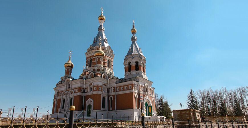 Храм Христа Спасителя<br/> в Уральске