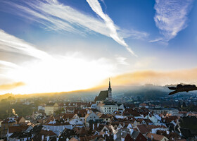 Осенний марафон по западной Европе. Крумлов 1