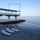 Пляж пансионата «Актёр»