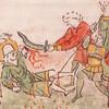 Миниатюра с изображением убийства князя из Радзивилловской летописи