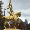 Жанна д'Арк рядом с Художественным музеем. Филадельфия - первая столица США, обзорная индивидуальная экскурсия с Ярославом Бондаренко.