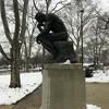 Мыслитель Родена у музея его же имени. Филадельфия - первая столица США, обзорная индивидуальная экскурсия с Ярославом Бондаренко.