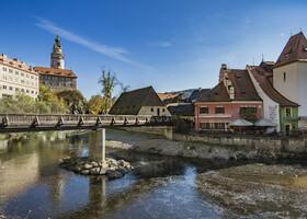 Осенний марафон по западной Европе. Крумлов 3
