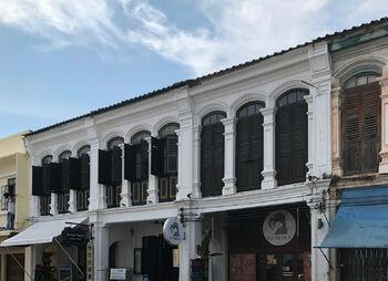 Старый город застроен домами в стиле «сино-португез»