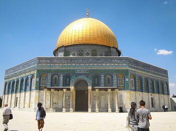 В Иерусалиме на Храмовой горе произошел пожар