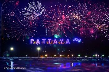 Грандиозный Фестиваль фейерверков состоится в Паттайе