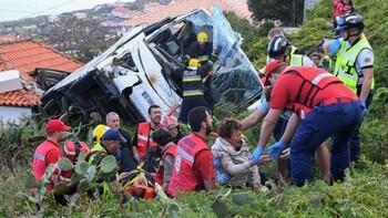 На Мадейре разбился автобус с туристами: погибли 29 человек