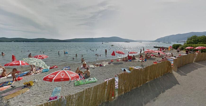Пляж Белане в Тивате