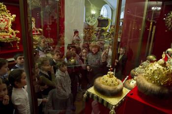 В прошлом году Музеи Московского Кремля приняли почти 3 млн туристов