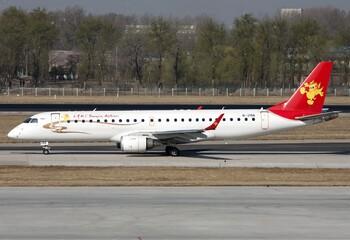Рейс китайской авиакомпании отложили из-за монет, брошенных в двигатель на удачу