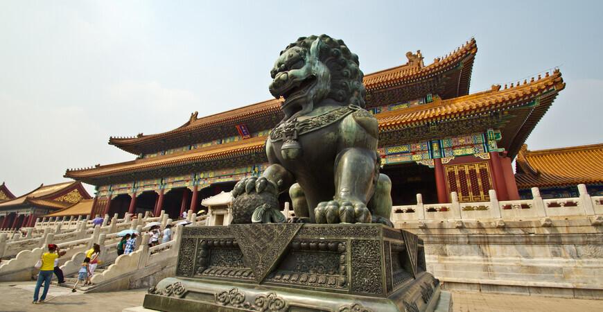 Запретный город в Пекине (Forbidden City)