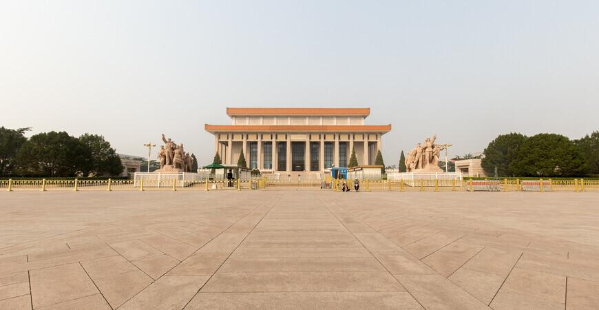 Мавзолей Мао Цзэдуна (Mausoleum of Mao Zedong)