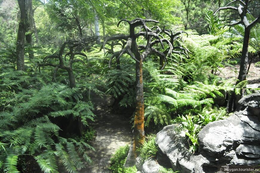 В Ботанический сад Сингапура надо идти...