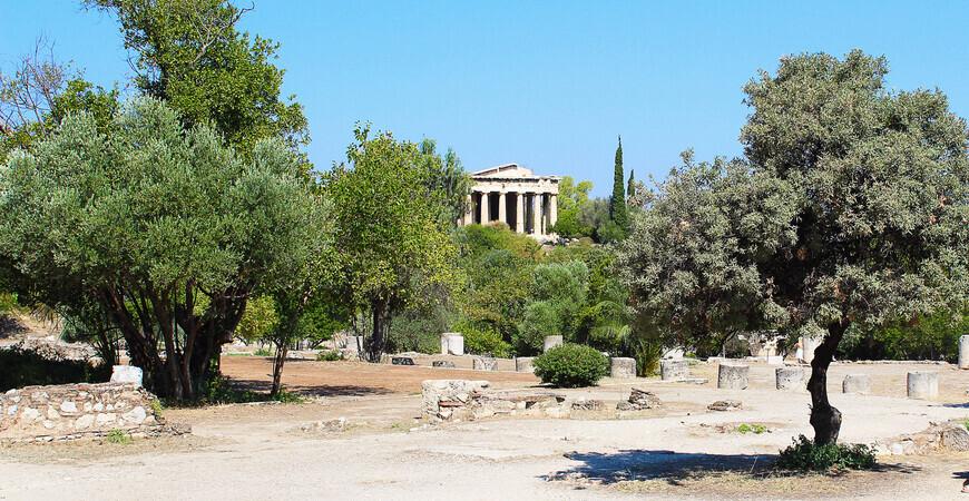 Афинская агора (Ancient Agora of Athens)