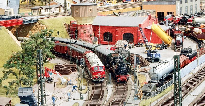 Музей транспорта в Дрездене (Verkehrsmuseum Dresden)