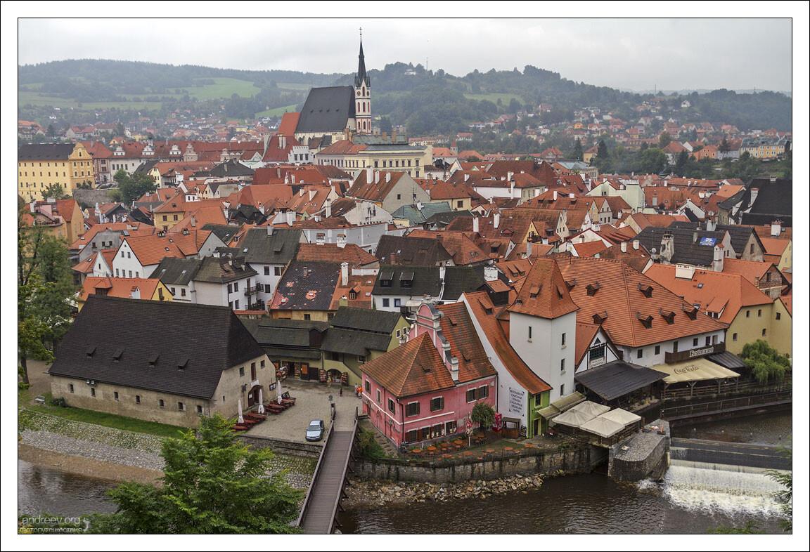 Чехия: Крумлов (изцикла «Полоскуткам Австро-Венгерской империи». Часть 14)