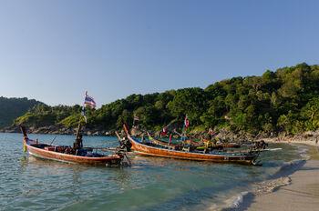 Традиционные тайские лодки