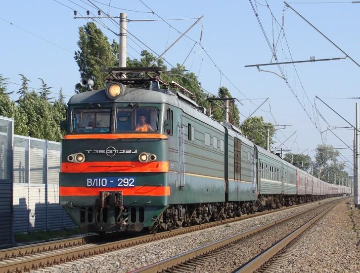 Поезд Череповец — Адлер (Сочи)