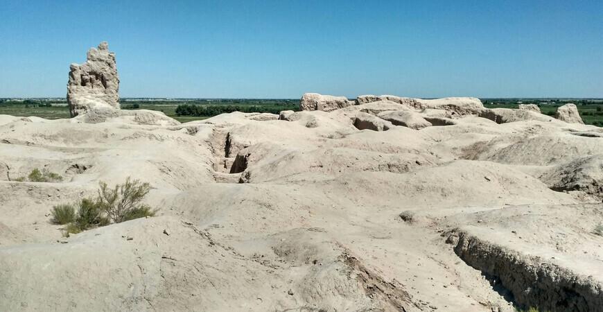 Крепость Гяур-Кала в Ходжейли