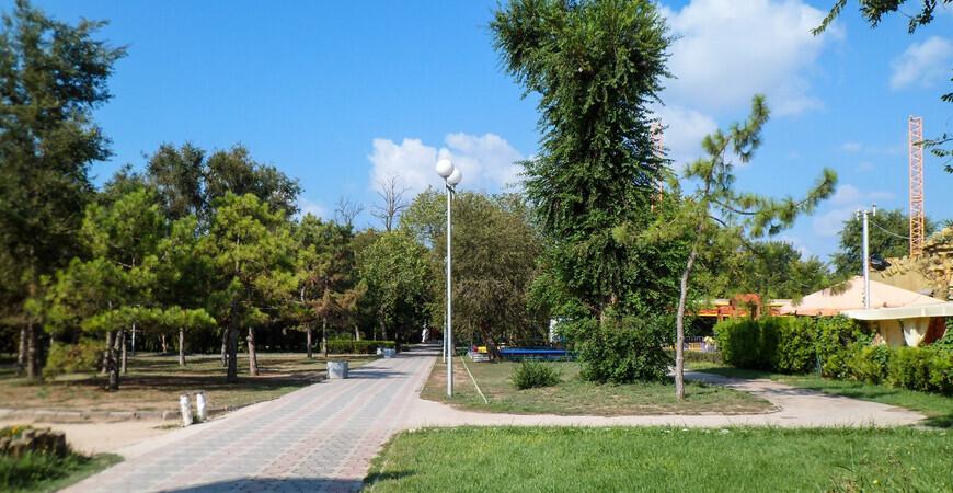 Парк имени Фрунзе в Евпатории