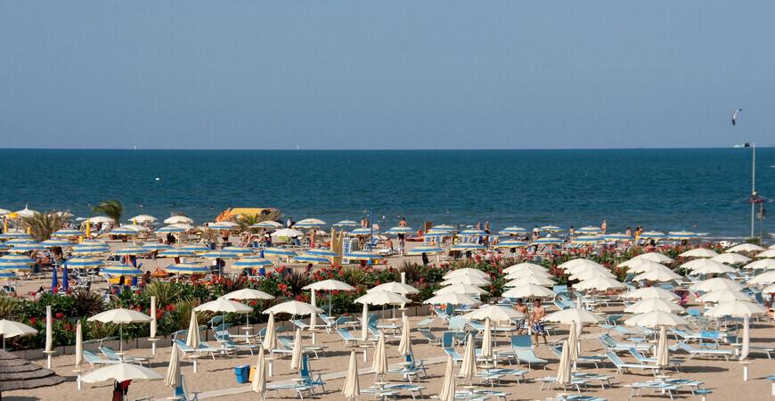 Пляж Римини Марина Центро (Bagno Rimini Marina Centro)
