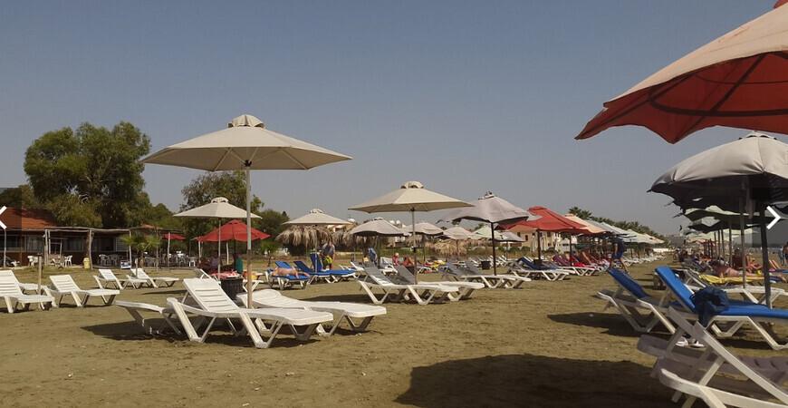 Пляж Янатес (Yanathes Beach), Ларнака