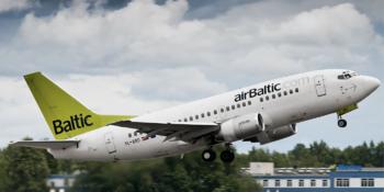 Авиакомпания airBaltic возобновляет полёты из Риги в Сочи