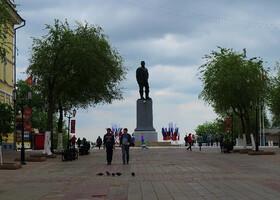 Весенний Оренбург